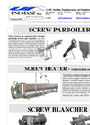 Skew Screw Blancher Unit Brochure