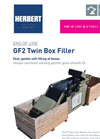 Herbert - Model GF2 - Twin Box Filler - Brochure