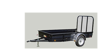 PJ Trailers - Model (A6) - All-Steel Utility