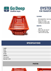 Oyster Crate for Transport and Sorting Brochure