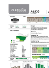 Platinum - Model A6533 - Corn Hybrids Brochure