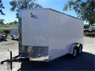 Model 7x14 V-Nose w/ Ramp - Cargo Trailer