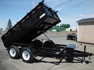 Iron Panther - Model D10 6X10 10K - Tandem Axle  Dump Trailer