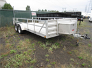 Open Flatbed Trailer