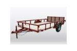 Diamond C - Model 2PSA - Single Axle Utility Trailer
