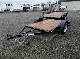 Iron Eagle - Model 5x8 Flatbed 3000 Series - Utility Trailer