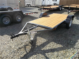 Iron Eagl - Model 5x10 Flatbed 3000 Series - Utility Trailer