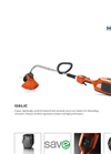 Husqvarna - Model 136LiC - Trimmer Brochure