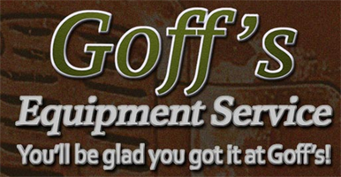 Goff's Equipment Service