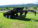 PJ  - Model 14 - Low Profile Gooseneck Dump Trailer