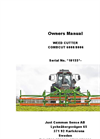 CombCut - Model 6008/8006 - Weed Cutter Manual