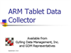 ARM - Tablet Data Collector (TDC) Brochure