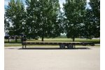 Snake River - Model 30 - GN Flatbed Trailer
