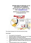 ManuTel - Model G2 - Manutel Extending Forks Datasheet