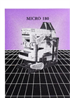 Model Micro 180 - Air/Screen Cleaners Datasheet