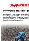 Agrolux - Model FMRT - Front Mounted Reversible Plough Brochure