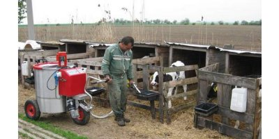 Feeding Calves Milk Shuttle