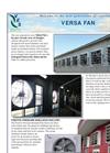 Versa Wall Fans Brochure