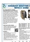 Aluminum Shutter Fans Brochure