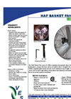 Horizontal Air Flow Fans (HAF) Brochure