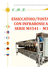Model Series M3541 - M3562 - Infrared Drier/ Roaster - Brochure