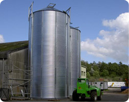 JWI - Flat Bottom Silos