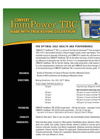 Convert ImmPower - Model TBC - True Bovine Colostrum - Brochure