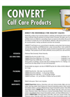 Convert - Powder - Direct-Fed Microbials For Healthy Calves - Brochure