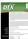Agrarian - Model Select DTX - Direct Fed Microbials - Brochure