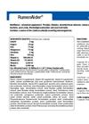 RumenAider - Cattle Capsules Datasheet