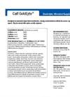 Calf GoldLyte - Electrolyte/Microbial Supplement for Calves Datasheet