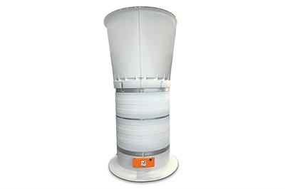 Model CL 920 The XL Version - Exhaust Air Chimney with High Air Performance
