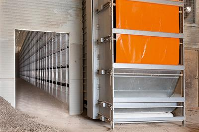 OptiSec - Manure Drying Tunnel