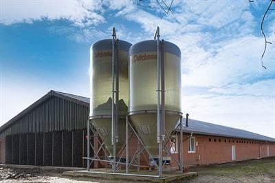 Silos for Hygienic Feed Storage