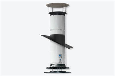 FAC - Model 2 - Fresh Air Chimney for Negative- or Balanced-Pressure Ventilation