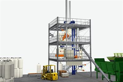 PelletTower - Model BD - For Residue Treatment