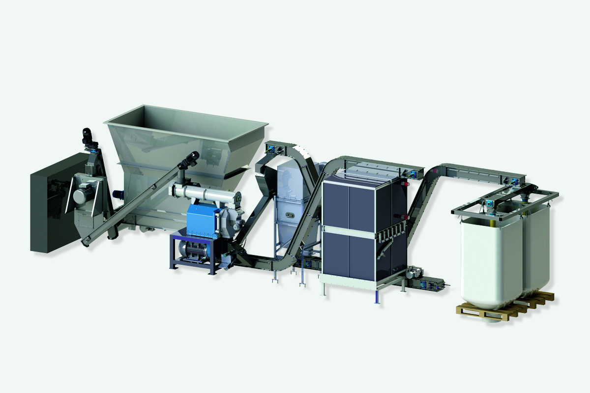 PelletBox - Model BD 750 - Pelletising Dried Poultry Manure