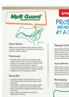 Model MpB Guard - Livestock Supplement Brochure