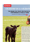Colostrx CR & Colostrx CS - Products Datasheet