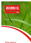 Ecosyl - Model 100 - Crops and Ensiling Conditioner - Datasheet