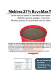 Bova Max - Tubs Protein Supplements Brochure