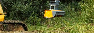 Model GK150 - Versatile Mulcher