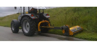 Model KR-600Z - Flail Mower Offset / In-Line Mulcher for Grass