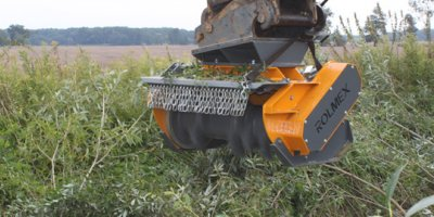 ROLMEX - Model GKC - Forestry Excavator Mulchers