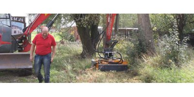 Model GH-120K - Excavator Mounted Mulcher