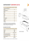 Model GS12 - Gravity Separator Brochure