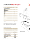 Model GS18 - Gravity Separator Brochure