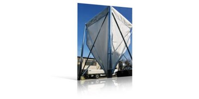 Fabric Silos with Zinc Metal Structure