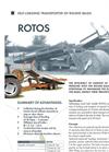 ROTOS - Self Loading Round Bale Handler Brochure