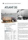Atlant - Model 20 - Tractor Trailers Brochure